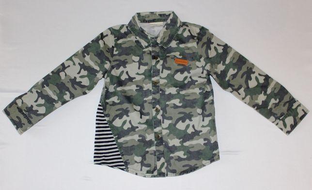 Рубашка камуфляжная для мальчика