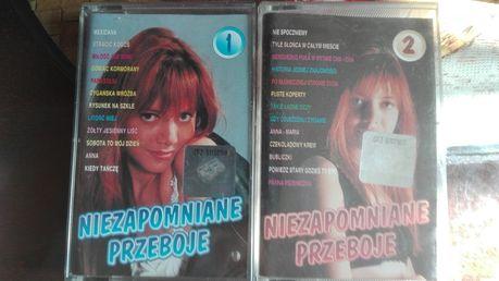 Niezapomniane przeboje 1 i 2 Lata 60-te komplet 2 kasety magnetofonowe