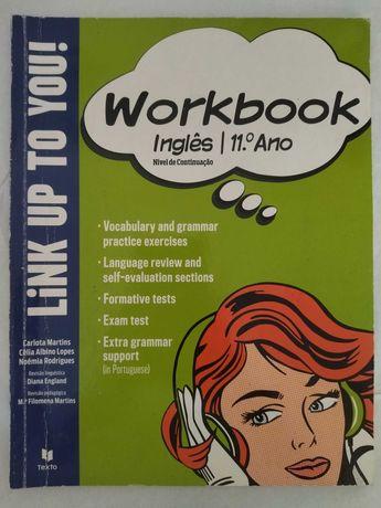 Inglês 11ºano - Caderno de Atividades Link Up To You! 11º