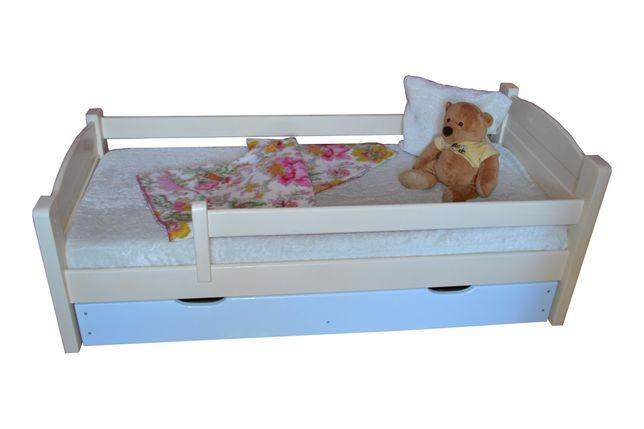 Łóżko drewniane 90*200cm +materac
