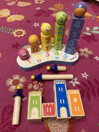 Zabawki drewniane edukacyjne