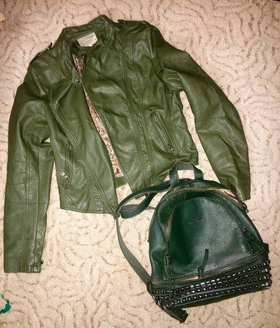 Куртка +рюкзак =200 грн