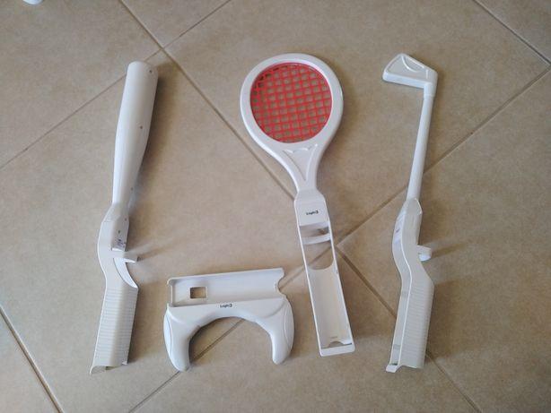 Acessórios Wii (volante, tenis, golf etc)
