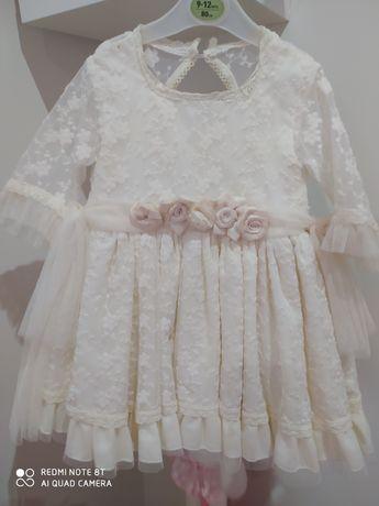 Vestido cerimónia menina