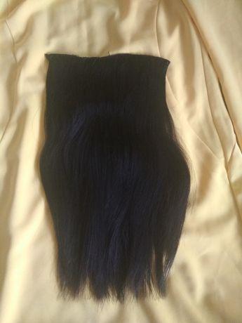 Натуральные волосы на трессах для голливудского наращивания