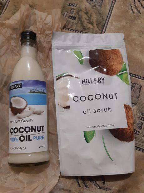 Кокосовое масло + Кокосовый скраб