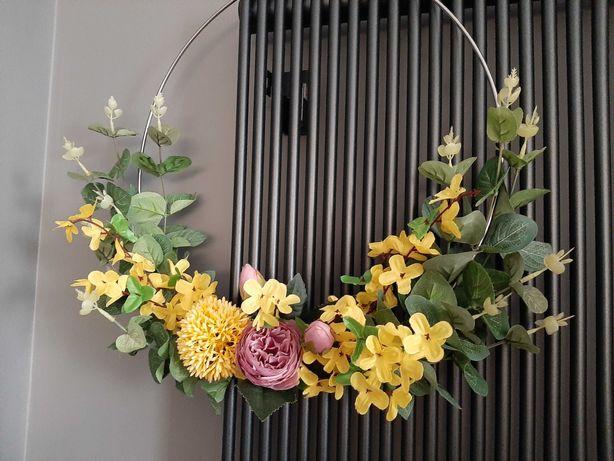 Wianek, wianek wiosenny, na drzwi,  ścianę