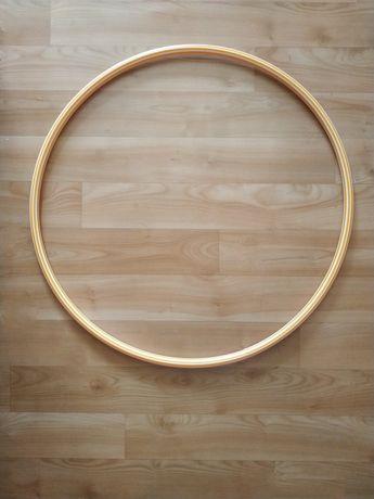 Детский обруч для художественной гимнастики танцев круг пластмассовый