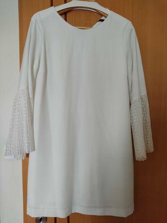 Vestido branco, portes grátis
