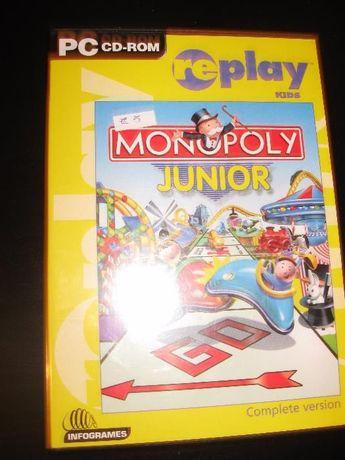 Monopoly Junior jogo em CD original para PC