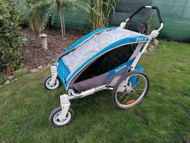 Przyczepka rowerowa dla dzieci SAINRE FOX SAINRE FOX 2 W