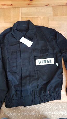 Koszarowe ubranie strażaka