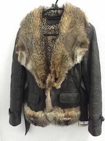 Продам куртку. Натуральная кожа. Размер С. Цена 1000 грн