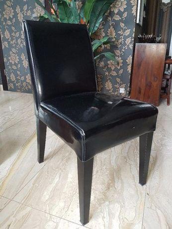 Krzesło Vinotti - skóra lakierowana