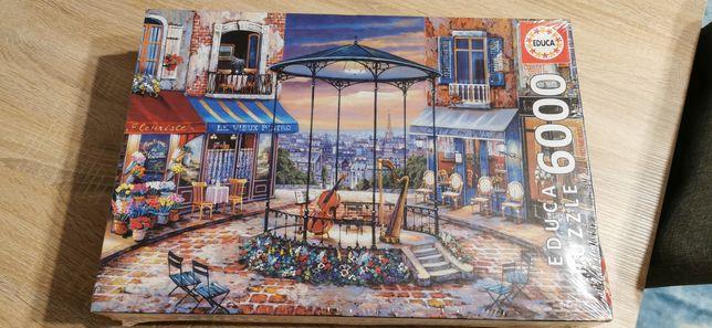 Puzzle 6000 Educa Wieczorne preludium NOWE