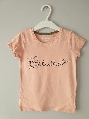 Jak nowa koszulka t-shirt 110 różowa 5.10.15