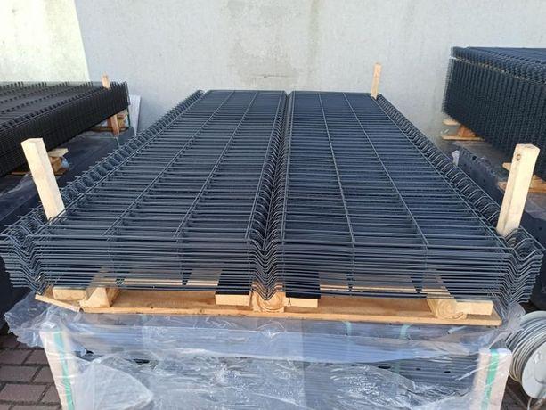 Panel 3D 153 cm OC+RAL, furtki, bramy, podmurówka