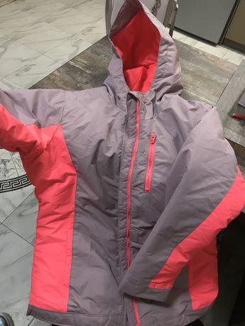 Куртка парка теплая зимняя горная спорт пуховик яркая xs рефлективная