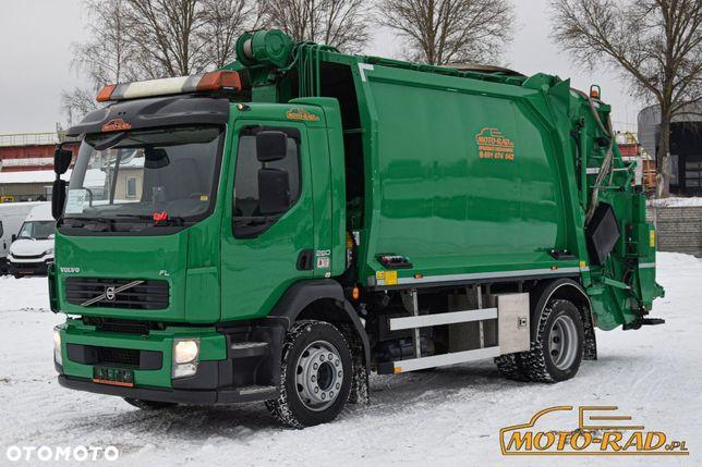 Volvo Fl / 4x2 / Euro 5 / Śmieciarka / Zabudowa Geesink Norba /