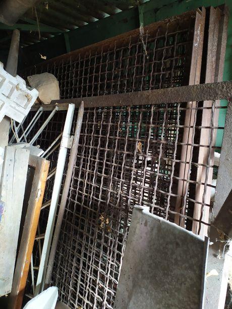 Секция для вольера. металлический забор