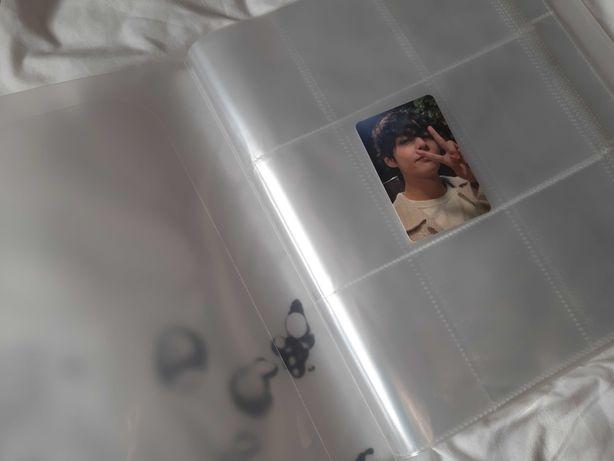 Album na karty photocard kolekcjonerskie BTS BlackPink Ateez Got7