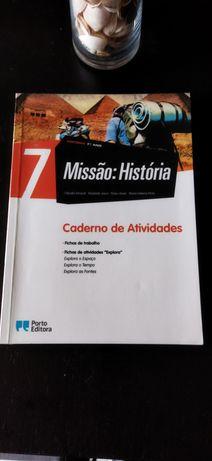 Caderno de Actividades Missão História 7° ano