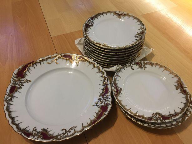 Rococo Ćmielów porcelana 0040 12 osob