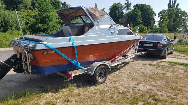 łódka Wędkarska kabinowa 140KM motorówka łódź 5,5m łódź motorowa