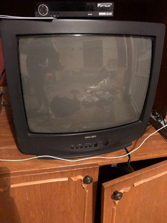Продам телевизор +тюнер + спутниковая тарелка