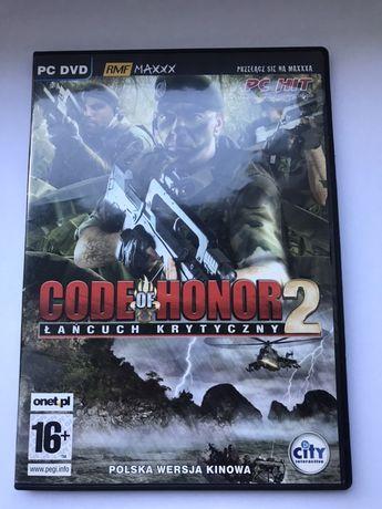 Code of honor 2 łańcuch krytyczny gra pc