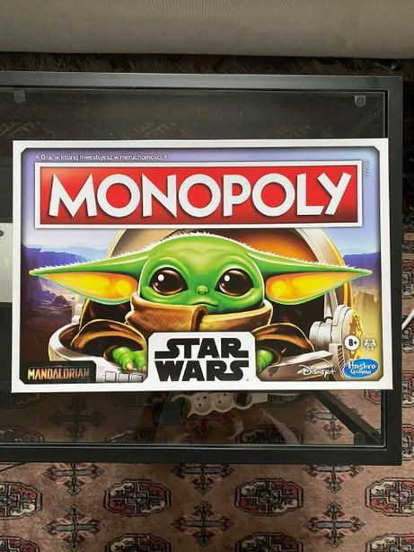 Monopoly Gra planszowa Star Wars Mandalorian The Child