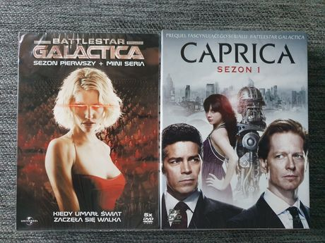 Battlestar Galactica + Caprica DVD PL
