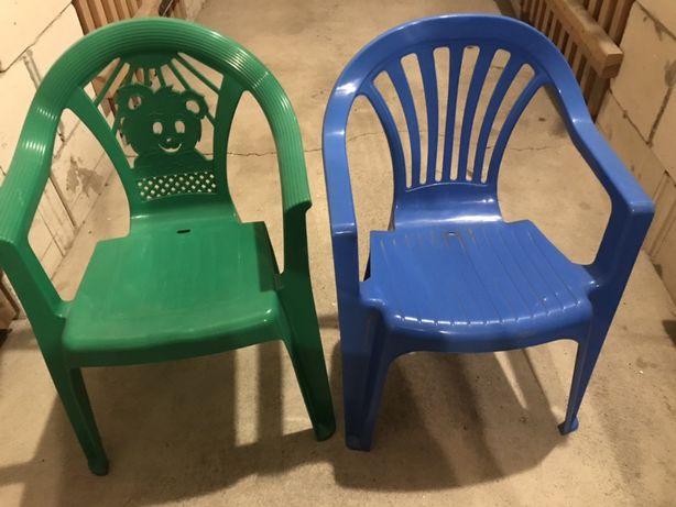 Krzesełka ogrodowe dla dzieci