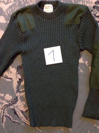 swetry wojskowe / moro / orginalne / welna