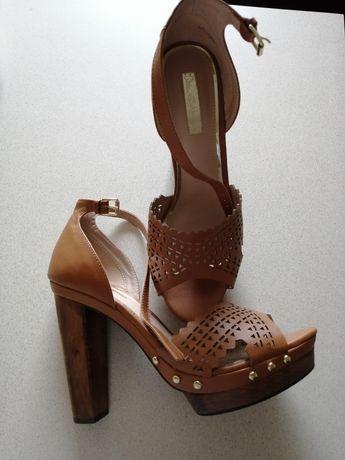 Nowe Sandały, platformy, szpilki