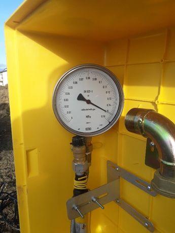 przyłącze gazu, instalacja gazowa