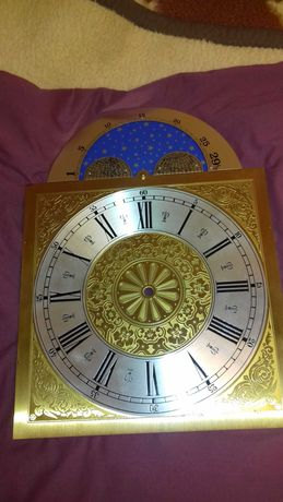 Tarcza zegara z mosiądzu