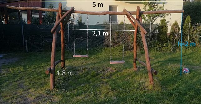 Huśtawka ogrodowa dla dzieci i nietylko