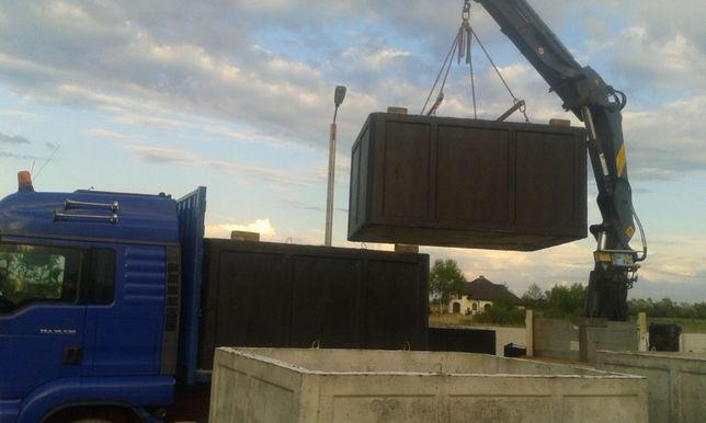 zbiorniki szamba betonowe 10m3 gwarancja jakości atest wodoszczelne