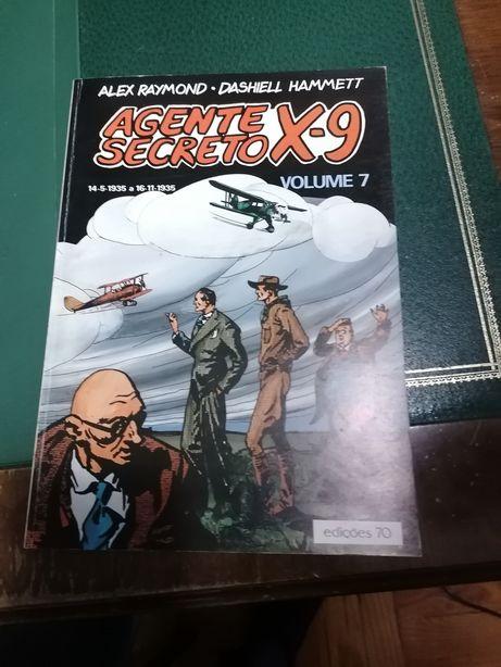 Coleção Banda Desenhada Agente Secreto X-9