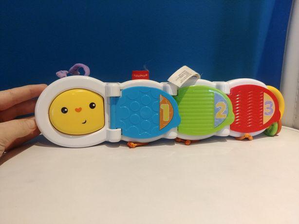 Zabawka dla niemowląt - gąsienica