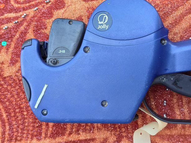 Этикет пистолет. Машинка для ценников Jolly jh8
