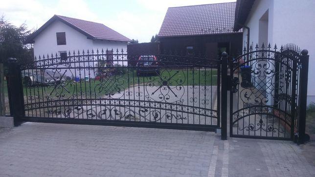 Ogrodzenie kute Oława
