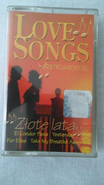 Kaseta magnetofonowa Love songs instrumental