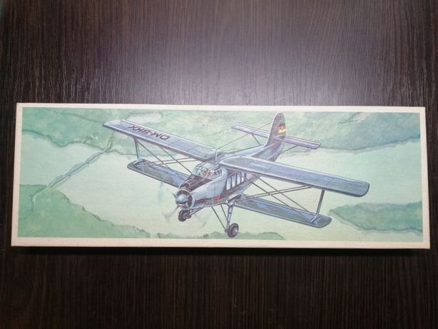 АН-2 сборная модель самолёта Plasticart Пластикарт ГДР