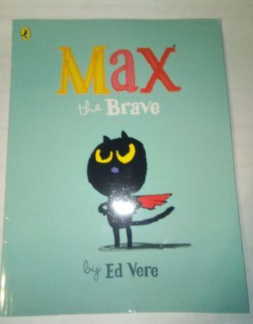сказка на английском Max the Brave Ed Vere Макс Храбрый
