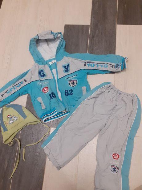 Одяг для хлопчика, куртки,штани, шапки