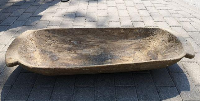 Stara niecka drewniana - dłubana