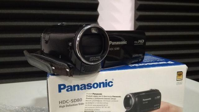 Kamera cyfrowa Panasonic HDC-SD80 czarna