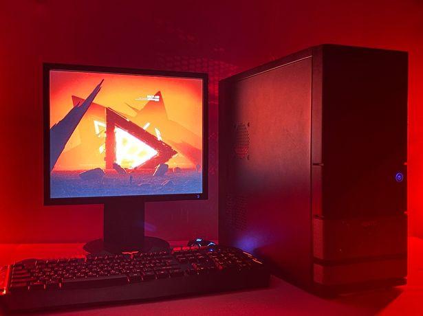 Бюджетный игровой компьютер пк + 650 GTX 1 GB GDR5 NVIDIA + 4 ядра X